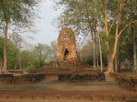 The lonely ruins of Si Thep in Phetchabun
